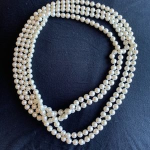 Pearl accent necklace